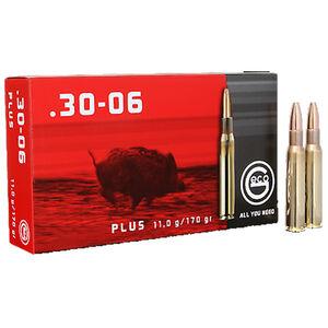 GECO .30-06 Springfield Ammunition 20 Rounds 170 Grain GECO Plus Projectile