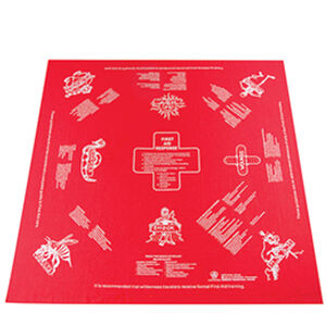 5ive Star Gear Survival First Aid Handkerchief