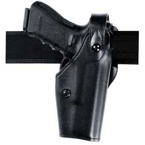 Safariland 6280 GLOCK 21 with Light SLS Mid-Ride Level II Duty Holster, Right Hand STX Tactical Finish Black 6280-3830-131
