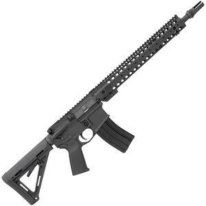 "Bushmaster XM-15 3-Gun Basic AR-15 Semi Auto Rifle 5.56 NATO 16"" Barrel 30 Rounds Barnes Precision Modular Handguard Magpul MOE Collapsible Stock Black Finish"