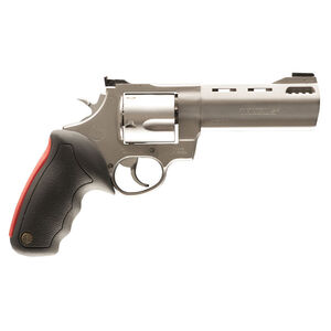 "Taurus Raging Bull 454 Double Action Revolver .454 Casull 5"" Ported Barrel 5 Rounds Fixed Front Sight/Adjustable Rear Sight Rubber Grip Matte Stainless Steel Finish"