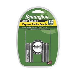 Remington Rem Choke Express Choke Bundle 12 Gauge Improved Cylinder/Full Choke Stainless Steel