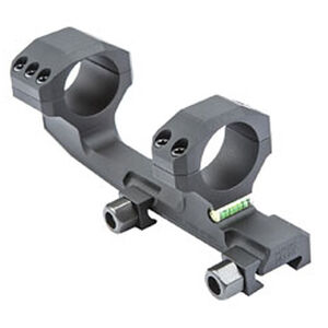 "Black Spider LLC Meyers One Piece Mount 30mm Tube 1.58"" AR-15 Scope Height Bubble Level 7075-T6 Aluminum Anodized Matte Black"