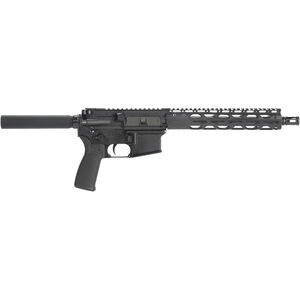 "Radical Firearms AR-15 Semi Auto Pistol 5.56 NATO 10.5"" M4 Profile Barrel 30 Rounds 10"" Free Float RPR M-LOK Handguard Black"