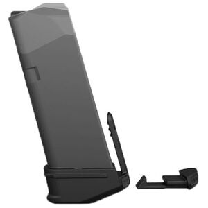 Recover Tactical GLOCK 43 Magazine Base Plate Adapter and Clip Polymer Black