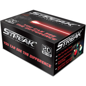 Ammo Inc, Red STREAK 9mm Luger 124 Grains TMC 20 Rounds 9124TMC-STRK-RED