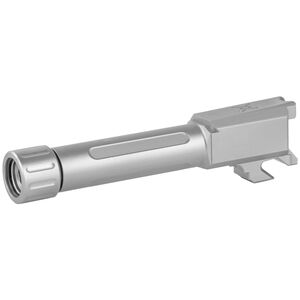 True Precision Springfield Armory Hellcat Threaded 1/2x28 Drop In Replacement Barrel 9mm Luger Stainless Steel Finish