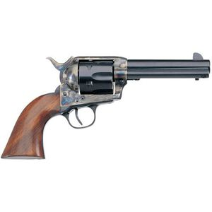 "Taylor's & Co 1873 Cattleman Revolver 357 Mag 4.75"" Barrel 6 Rounds Walnut Grip Blued"