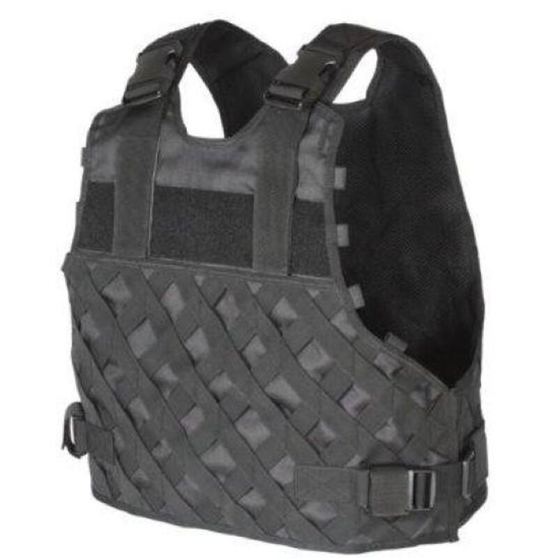 Voodoo Tactical I.C.E. Variable Advanced Assault Tactical (VAAT) Plate Carrier Nylon Large to Extra Large Black 20-9032001329