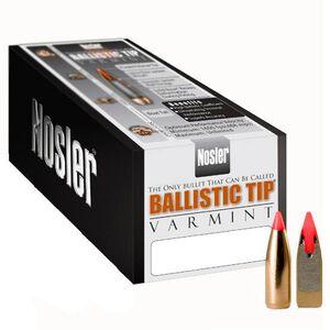 """Nosler .204 Caliber (.204"""" Diameter) 32 Grain Spitzer Maroon Ballistic Tip Varmint Bullet 250 Count 39573"""
