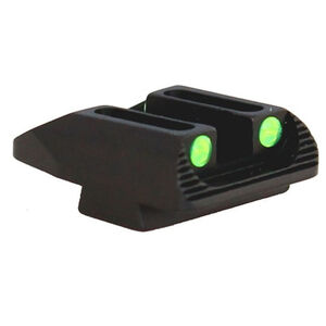 Williams Firesight's Sight  Rear Sight for Springfield XDS Pistols Fiber Optic Sight Aluminum Housing Black Finish