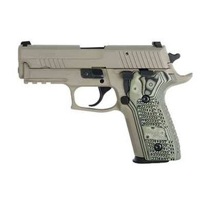 "SIG Sauer P226 Scorpion Semi Automatic Pistol 9mm Luger 4.4"" Barrel 10 Rounds G10 Grips Dark Earth Finish E26R-9-SCPN"