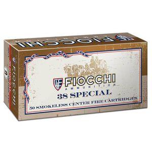 FIOCCHI Cowboy Action .38 Special Ammunition 50 Rounds LFN 158 Grains 38CA