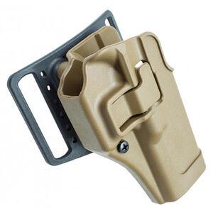 BLACKHAWK! SERPA CQC Concealment Holster GLOCK17/22/31 Right Handed Coyote Tan 410500CT-R