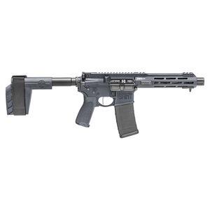 "Springfield Armory SAINT Victor 5.56 AR-15 Semi Auto Pistol 7.5"" Barrel 30 Rounds with a SB Tactical Pistol Brace Tactical Gray"