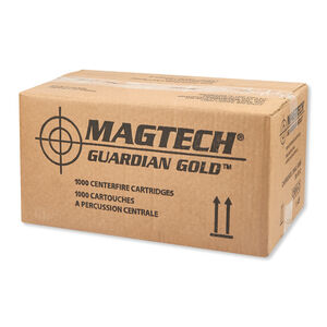 Magtech Guardian Gold .357 Magnum Ammunition 1000 Rounds JHP 125 Grains GG357A