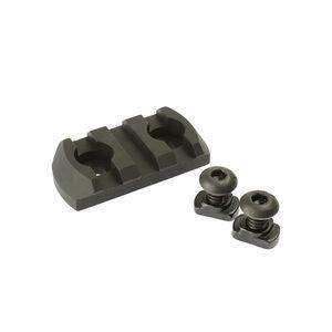 CMC Triggers Conversion Rail from M-LOK to 3 Slot Picatinny Anodized Aluminum Matte Black 81721