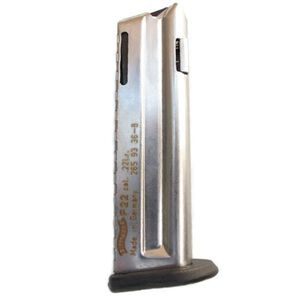 Walther P22 10 Round Magazine .22LR  Steel Nickel Finish