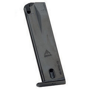 Mec-Gar Ruger P85/P89/P93/P94/P95 9mm Magazine 15 Rounds Steel Blued