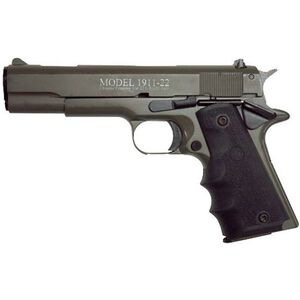 "Chiappa 1911-22 Semi Auto Pistol 22 LR 5"" Barrel 10 Rounds Alloy Frame Rubber Grips OD Green"