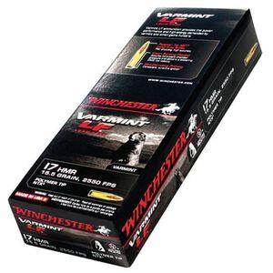 Winchester .17 HMR 15.5 Grain Lead Free NTX 50 Round Box