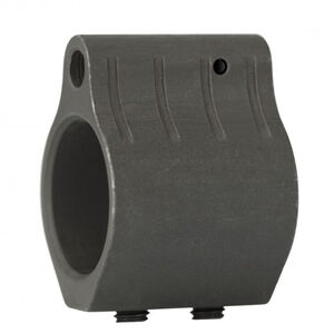 "ATI AR-15/AR-10 Low Profile Gas Block .750"" Diameter Machined Steel Black Nitride Finish"
