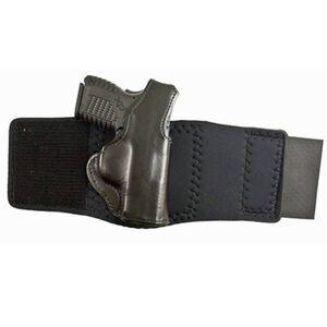 DeSantis Die Hard Ankle Holster Springfield XD-S Right Hand Leather/Neoprene Black 014PCY1Z0