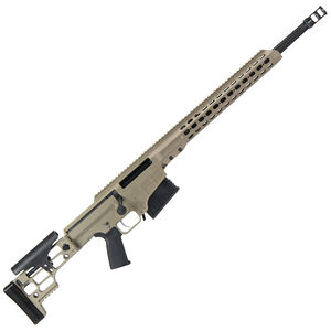"Barrett MRAD Bolt Action Rifle .308 Winchester 22"" Fluted Barrel 10 Round Magazine Flat Dark Earth Cerakote Receiver"