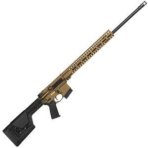 "CMMG Endeavor 300 MkW-15 6.5 Grendel AR-15 Semi Auto Rifle 22"" Barrel 10 Rounds RML15 M-LOK Handguard Magpul PRS Fixed Stock Burnt Bronze Finish"