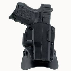Galco Matrix M4X SIG Sauer P220R, P229R with Non-tapered Slide Auto Locking Paddle Holster Right Hand Polymer Black M4X250