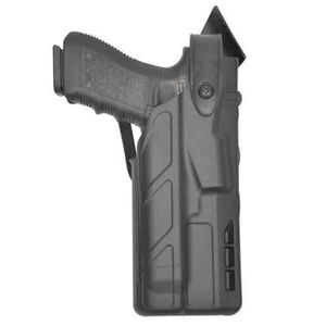 Safariland 7360 SIG Sauer P320C 9/40 with Light ALS/SLS Level III Retention Duty Holster 7TS STX Plain Right Hand Black