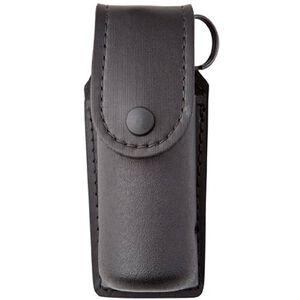 Safariland Model 40 Distraction Device Holder SafariLaminate Top Flap Black Snap Closure STX Tactical Black 40-1-23PBL