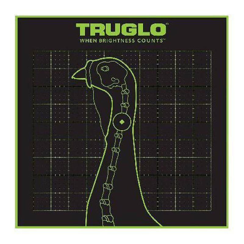 """TRUGLO Tru-See Turkey Target 12""""x12"""" 6 Pack TG12A6"""