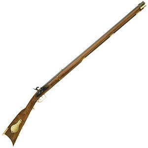 "Traditions Kentucky Black Powder Rifle .50 Caliber Percussion 33.5"" Octagonal Barrel Blued Hardwood Stock"