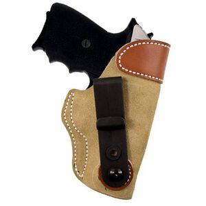 DeSantis Gunhide Sof-Tuck SIG Sauer P938, Kimber Solo Inside the Waistband Holster Right Hand Leather Natural 106NAX3Z0