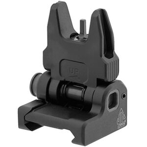 UTG ACCU-SYNC Spring-loaded AR-15 Flip-up Front Sight, Black