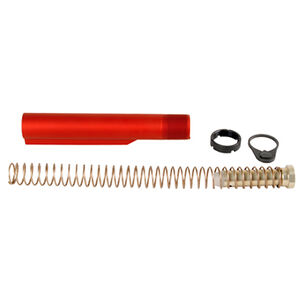 LBE Unlimited AR-15 Mil-Spec Buffer Tube Kit, Red