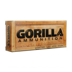 Gorilla Ammunition .260 Remington Ammunition 20 Rounds Sierra Matchking BTHP 123 Grains GA260123SMK