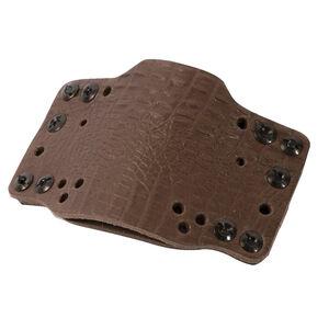 Limbsaver CrossTech Leather Compact Gun Holster Ambidextrous IWB/OWB Most RevolverCompact/Sub-Compact Semi Auto Pistol Dark Brown