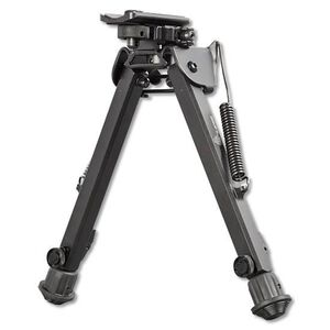 "Leapers UTG Super Duty Bipod Quick Detach Adjustable 8"" to 12"" Metal Black TL-BP99Q"