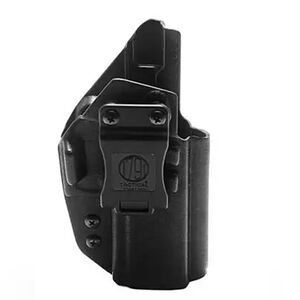 1791 Gunleather Tactical Kydex IWB Holster for SIG Sauer P320 Right Hand Draw Kydex Matte Black