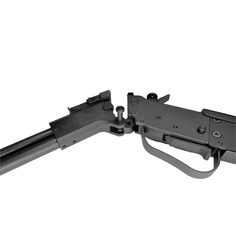 "TPS Arms M6 Takedown Over/Under .410 Bore/.22 WRM Break Action Shotgun/Rifle 18.25"" Barrel 3"" Chamber Single Shot Iron Sights Blued/Black"