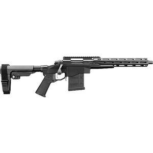 "Remington 700 CP 6.5 Creedmoor Bolt Action Pistol 12.5"" Barrel 10 Rounds Picatinny Top Rail M-LOK Compatible Forend SBA3 Pistol Brace Black Finish"