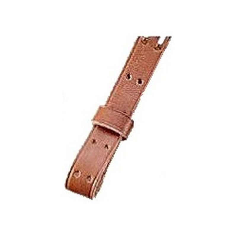 """Uncle Mike's Military Sling 1.25"""" Leather Plain"""