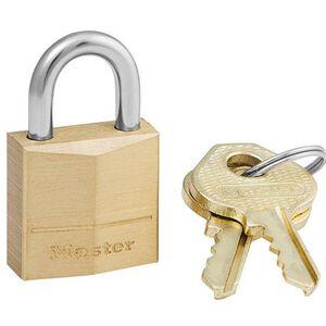 Master Lock No 120D Solid Brass Padlock