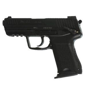 """H&K HK45C V1 Semi Auto Pistol .45 ACP 3.94"""" Barrel 8 Rounds Polymer Frame Black 745031LE-A5"""