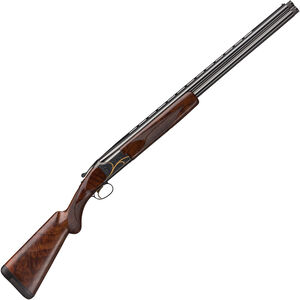 "Browning Citori Gran Lightning O/U Break Action Shotgun 12 Gauge 26"" Vent Rib Barrel 3"" Chamber 2 Rounds Walnut Stock Silver Receiver with Gold Engravings"