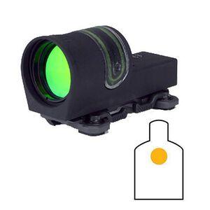 Trijicon 42mm Reflex Amber 6.5 MOA Dot Reticle with TA51 Mount Black RX30A-51