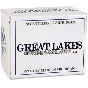Great Lakes .450 Bushmaster Ammunition 20 Rounds 300 Grain Hornady XTP HP Bullet Remanufactured Ammunition