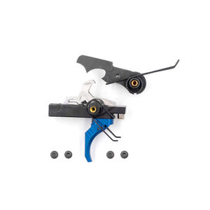 Airborne Arms Compact Geronimo Trigger System Curved Shoe Adjustable Pull Weight Blue